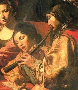 Bild Zink und Sängerin